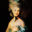 Thomas Gainsborugh - Lady in Blue — Stock Photo