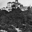 Stock Photo: Wallenstein Castle in Friedland, 1937