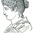Women's haircut, Ancient Rome — Stock Photo