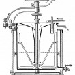 Apparatus for the pasteurization of milk — Stock Photo