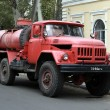 Old fire truck on the basis of ZIL — Stock Photo