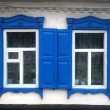 Old windows with shutters — Stock Photo