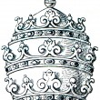 Papal tiara — Stock Photo