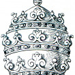 Papal tiara - Stock Photo