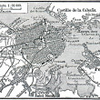 Plan of La Habana - Stock Photo