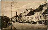 Antique postcard — Stock Photo