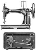 Veritas sewing machine — Stock Photo