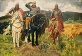 Victor Vasnetsov - Giants — Stock Photo