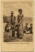 Wahima siblings, German South Africa — Stock Photo