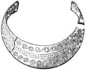 Bronce joyería, pomerania, alemania — Foto de Stock