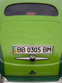 Closeup of a classic vintage car — Zdjęcie stockowe