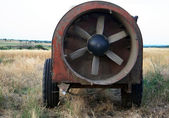 Diesel driving fan — Stock Photo