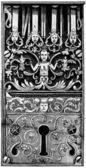 Door lock, France, 18th century — Stock Photo