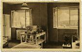 Hospital ward schwarzbach mal en isergebirge — Foto de Stock