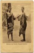 Ladies from Rwanda, German South Africa — Stock Photo