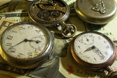 Eski cep saati — Stok fotoğraf