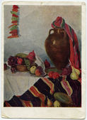 Painting by Mher Abegyan - Autumn Still Life, 1960 — Stock Photo