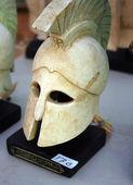 Roman helmet for sale — Stock Photo