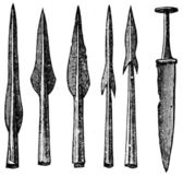Weapons Roman period, Germany — Stock Photo
