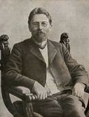 Writer Anton Chekhov, 1890 — Stock Photo