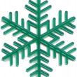 Snowflake plastic toy was released in the 70s of last century — Stockfoto