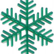 Snowflake plastic toy was released in the 70s of last century — Стоковая фотография