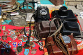 Flea market, Lugansk, Ukraine — Stock Photo