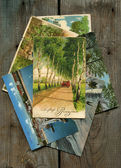 Old german post cards — Stock Photo