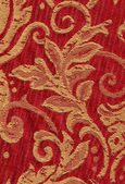 Red vintage fabric — Stock Photo