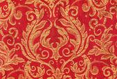 Red crispy oriental style decor — Stock Photo