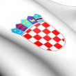 Croatia Coat of Arms - Foto de Stock