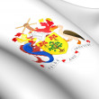 Barbados Coat of Arms - Stock Photo
