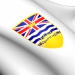 British Columbia Coat of Arms, Canada. — Stock Photo