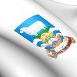 Falkland Islands Coat of Arms - Stock Photo
