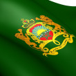 Foto Stock: Royal Standard of Morocco