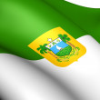 Rio Grande do Norte Flag, Brazil. — Stock Photo