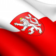 Flag of Bohemia — Stock Photo