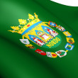 Flag of Seville Province, Spain. - Stock Photo