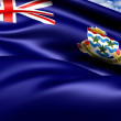 Flag of Cayman Islands - Stock Photo