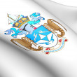 Tristan da Cunha Coat of Arms — Stock Photo