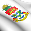 Cayman Islands Coat of Arms - Stock Photo