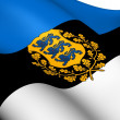 Stock Photo: Flag of Estonia