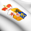 Limburg Coat of Arms, Netherland. - Stock Photo