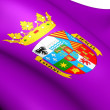 Flag of Palencia — Stock Photo