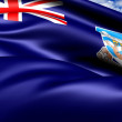 Flag of Falkland Islands - Lizenzfreies Foto