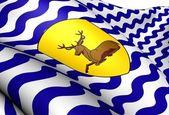 Vlag van hertfordshire, engeland. — Stockfoto