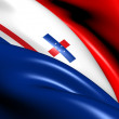 Governor of Netherlands Antilles Flag — Stock Photo #11752454