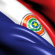Flag of Paraguay — Stock Photo