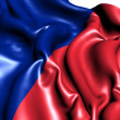 Flag of Paris, France. - Stock Photo