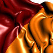 Flag of Rome - Stock Photo